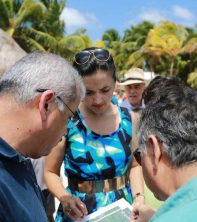 Unen esfuerzos estado y municipio de Tulum para conseguir paso libre en Akumal
