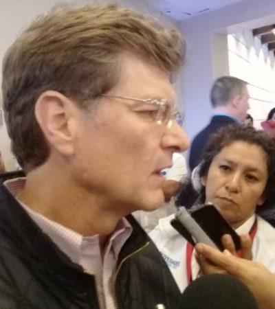 """""""Ni modo que nada más ellos se protejan"""", reclama Secretario de Turismo al cierre de oficina consular de EU en Playa del Carmen"""
