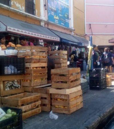 DISPUTA POR LA CLIENTELA EN MÉRIDA: El mercado Lucas de Galvez está cercado por 450 ambulantes
