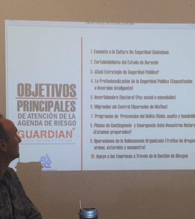 Acuerdan SSPQROO y Coparmex Cancún sumar esfuerzos por la seguridad en Quintana Roo