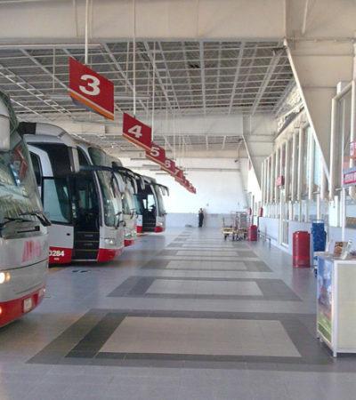 PRENDE LA SEMANA SANTA: Más camiones, más viajes y más movimiento en terminal de autobuses