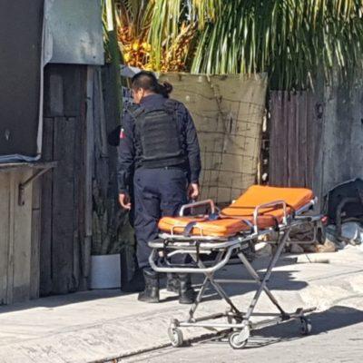 Los golpes de su esposo la mandan al hospital en la Región 221