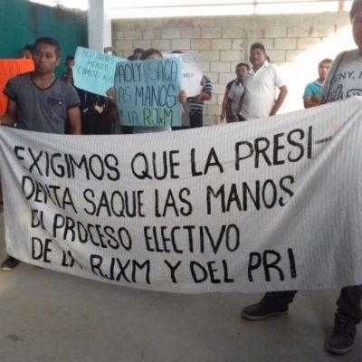 Jóvenes del PRI de FCP piden a alcaldesa de su propio partido, Paoly Perera, que deje de 'meter mano' en el proceso interno
