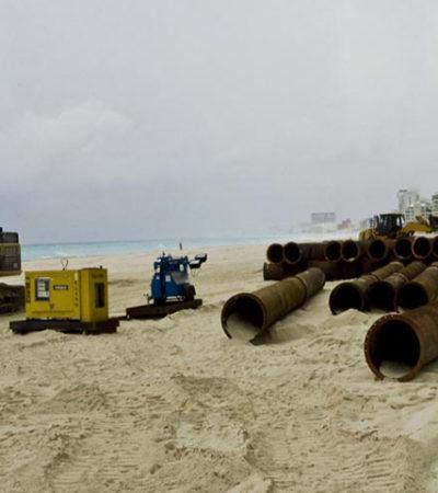 El sexenio de Enrique Peña Nieto terminará sin recuperación de playas porque no hay dinero, admite Sectur