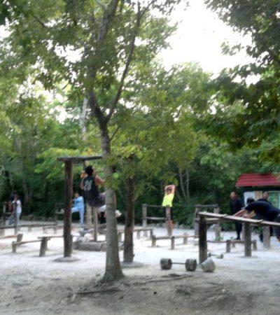 Con nueve mdp de inversión, comienza la rehabilitación integral del Parque Kabah