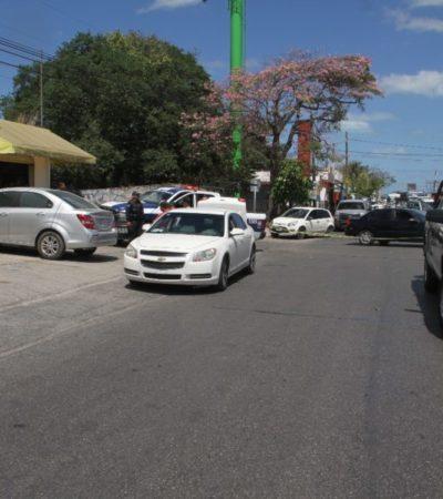 Detonaciones y persecución policiaca termina con tres detenidos en Cancún