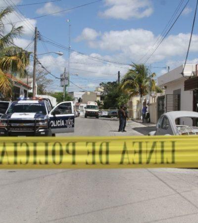 Balazos contra oficina de brazaleteros en SM 59 de Cancún