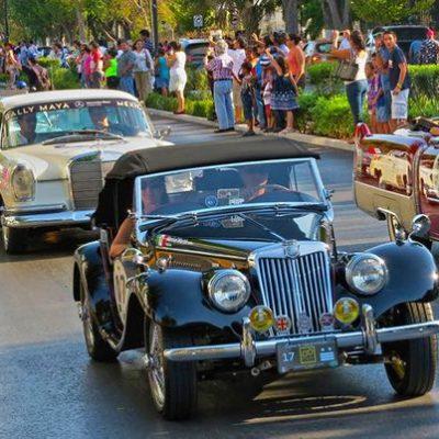 Vehículos de 1915 a 1975 correrán en el Rally Maya por toda la Península de Yucatán