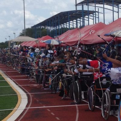Arqueras mexicanas coronan dianas de primeros lugares en Gran Prix Mexicano de Tiro Con Arco celebrado en Cancún
