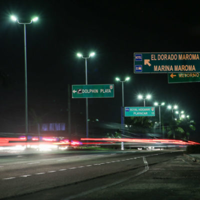 Instala Ayuntamiento de Solidaridad más de 1,300 luminarias en zonas habitacionales