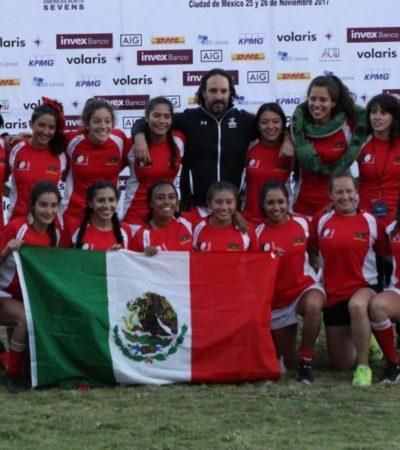 Fernanda del Carmen Cauich Euan y Margely Isabel Angulo Duarte son reservas de selección nacional de rugby
