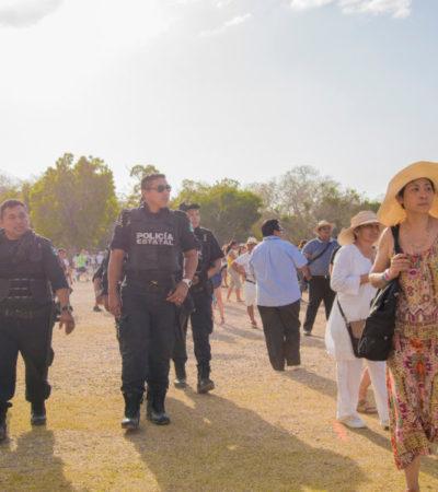 'FRUSTRAN' POLICÍAS LA 'RECARGA DE ENERGÍA': Ocho detenidos con drogas durante equinoccio en Chichén Itzá