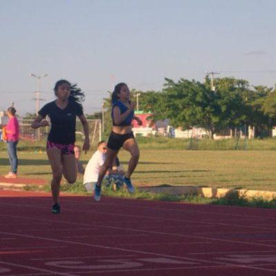 Atentos al disparo de salida, atletas cancunenses buscarán sus mejores marcas clasificatorias