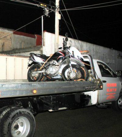Encuentra su moto robada junto con otras dos en Calle 36 de la Región 102