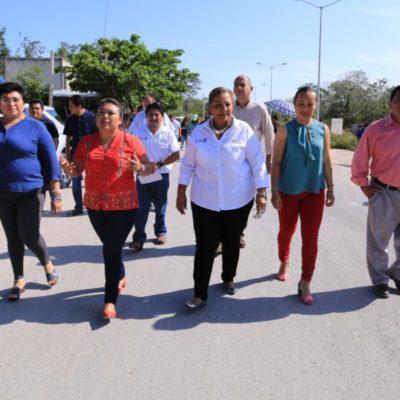 Entregan Casa del Adulto Mayor y más infraestructura urbana en Tulum