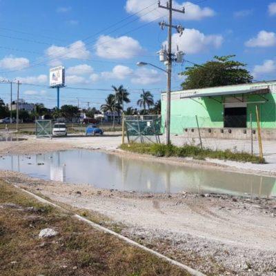 ¿REPRESALIAS CONTRA ACTIVISTAS?: Tras exhibir el 'Gran Bache' de Cancún, los multan por supuestamente circular en sentido contrario en torno al 'cráter' de la Kinik