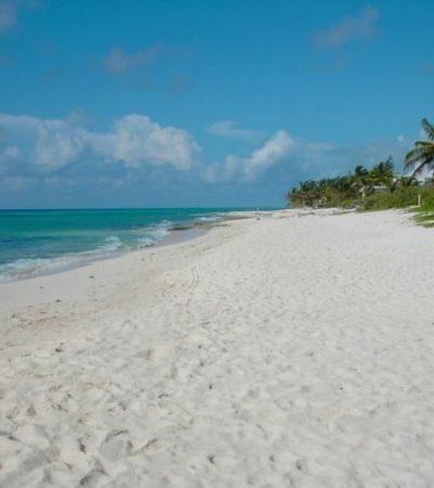 Peatones ganan más playas a vehículos. Alcaldesa de Solidaridad restringe acceso de autos