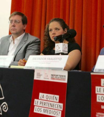 México, con industria mediática exitosa, pero incapaz de proteger periodistas: RSF al presentar la plataforma Media Ownership Monitor