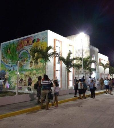 El cine 'Ka'an Sijil' renace como Centro Comunitario en Carrillo Puerto
