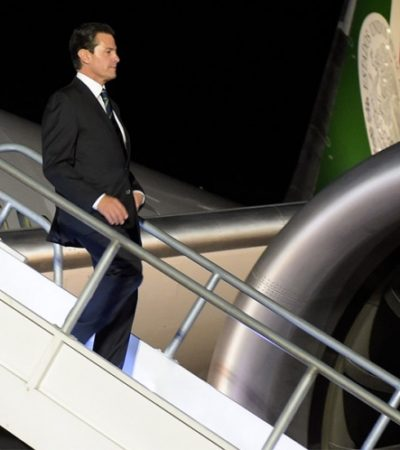 No es un gesto amistoso construir un muro, lamenta Peña Nieto