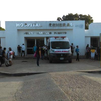 Doctores exhiben falta de equipos e insumos en Hospital General de Felipe Carrillo Puerto