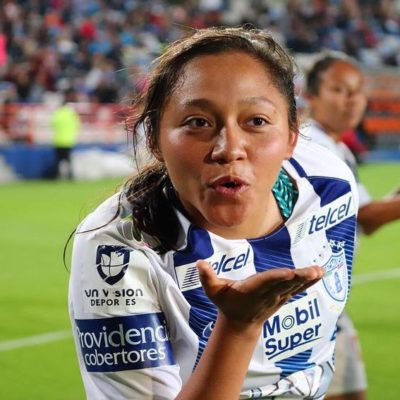 """""""No voy a permitir que nadie me robe los sueños, ni la ilusión"""", dice Viridiana, futbolista quintanarroense"""