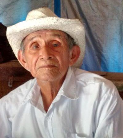 Aniversario luctuoso de 'Don Vis', impulsor del mayapax, fue olvidado por gobierno estatal y local