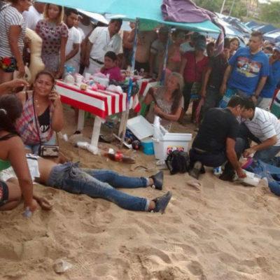 Un ex diputado priista y dos bañistas entre los 10 ejecutados del fin de semana en Guerrero