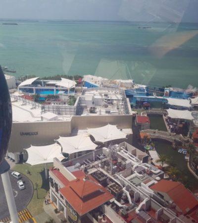 700 niños de bajos recursos se elevan por los aires en la Gran Rueda Cancún