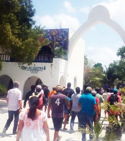 Las protestas en Akumal se deben  a intereses comerciales no sociales, dice el CEA