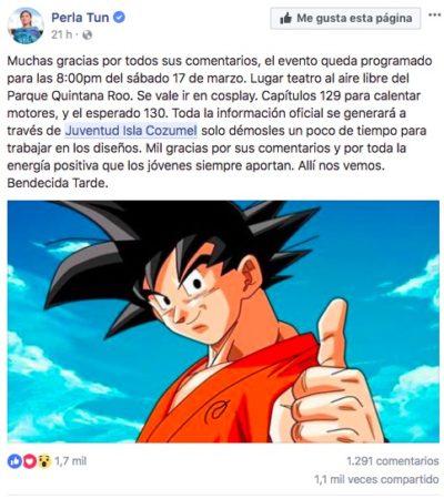 TAMBIÉN PERLA TUN SE SUMA A…: La batalla por la supervivencia entre Goku y Jiren ¡desembarca en Cozumel!