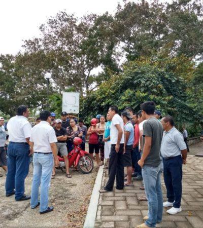 Jurídico del hotel Hard Rock Puerto Aventuras se reúne con trabajadores en paro por retiro de servicio de transporte en FCP