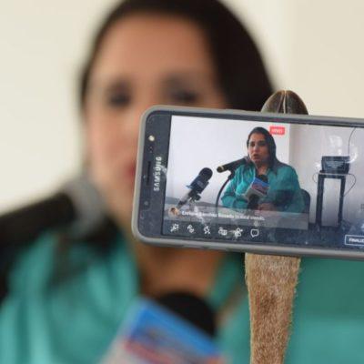 """""""Alarmar a la ciudadanía con desinformación es grave"""", dice Mayuli Martínez sobre el caso Barcos Caribe"""