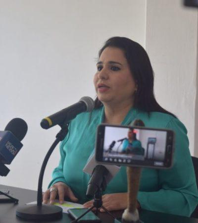La panista Mayuli Martínez Simón podría no pedir licencia al Congreso