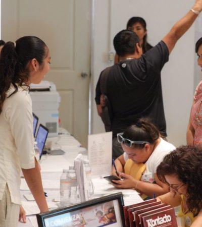 Realizan Primera Feria Turística del Trabajo en Puerto Morelos