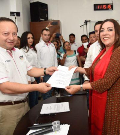 Cora Amalia buscará diputación federal por la coalición 'Todos por México' por Distrito 02