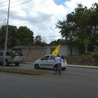 Caravanas a favor de Anaya ya recorren municipios de QR