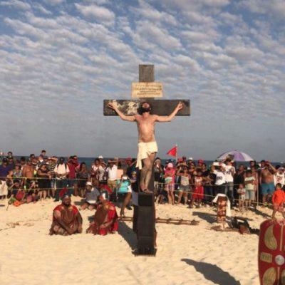 Saldo blanco en actividades religiosas masivas en Cancún