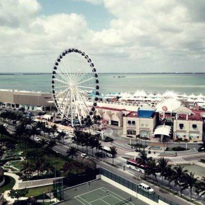 HOY EMPIEZA A GIRAR LA MEGA RUEDA CANCÚN: Todo listo para la inauguración del nuevo atractivo turístico de la Zona Hotelera