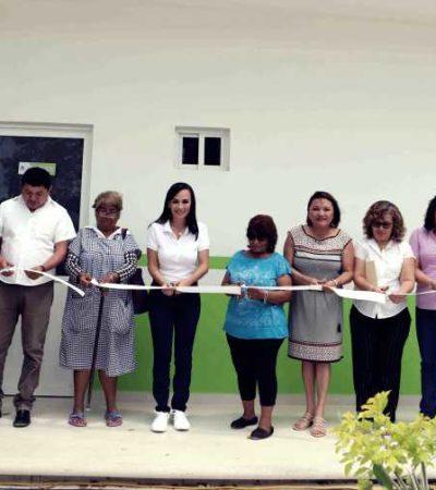 Inauguran ampliación del dispensario médico de Puerto Morelos