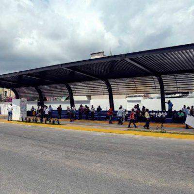 Inaugura Ayuntamiento cinco nuevos paraderos en Playa del Carmen