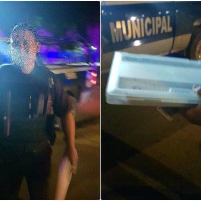 NO ES LA PRIMER QUEJA CONTRA POLICÍAS: Investigará Asuntos Internos caso de preventivos que quieren multar a conductores en Cancún