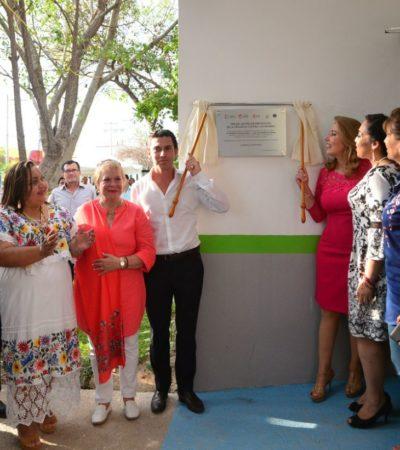 Entrega Alcalde instalaciones del Centro de Prevención de la Violencia contra las Mujeres en Cancún