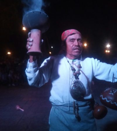 Alistan torneo internacional de pelota maya en Chapab