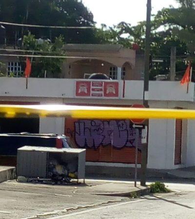 DISPARAN CONTRA TAXISTA EN CASA DE CAMPAÑA: Investigan agresión contra un integrante de la Planilla Naranja en Playa del Carmen; un detenido