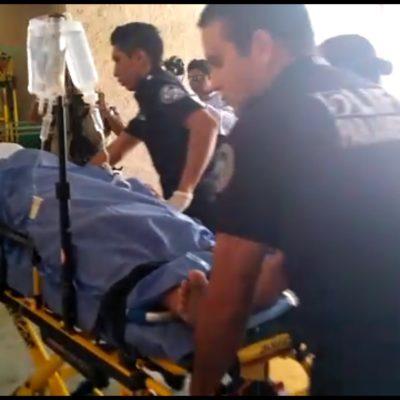 Dispara policía municipal contra persona en Puerto Morelos