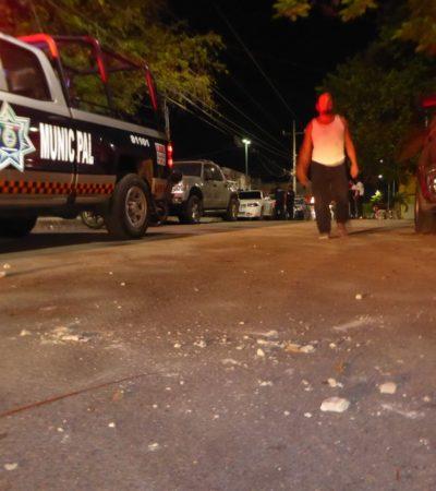 NOCHE DE 'MALACOPA': Alcoholizadas riñas dejan cuatro heridos en Playa del Carmen