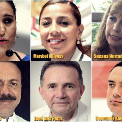 YA ESTÁN CANDIDATOS AL SENADO LISTOS PARA BUSCAR EL VOTO: Encabezan mujeres las tres fórmulas para buscar una curul por Quintana Roo