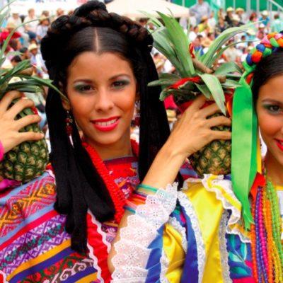 OAXACA EN CANCÚN: Inicia fiesta en el centro de la ciudad con muestras de la Calenda y la Guelaguetza