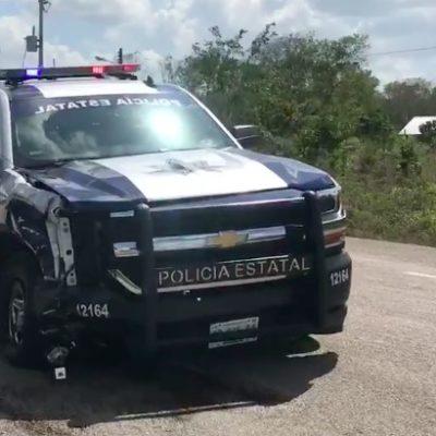 TRAGEDIA EN LA CARRETERA: Muere motociclista por Limones al ser atropellado por una patrulla de la Policía Estatal